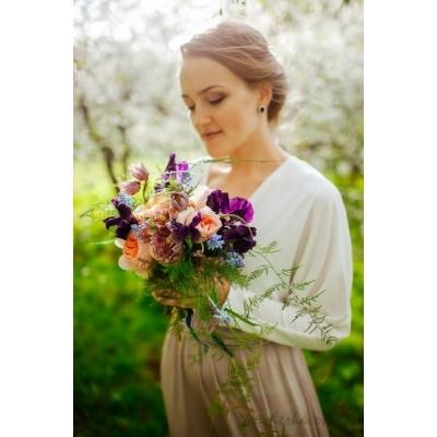 Свадебная прическа фото