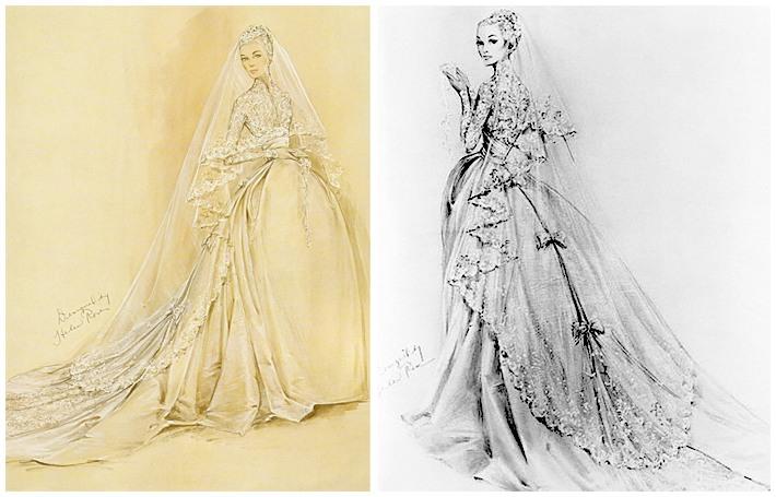 иконы свадебной моды грейс келли 13