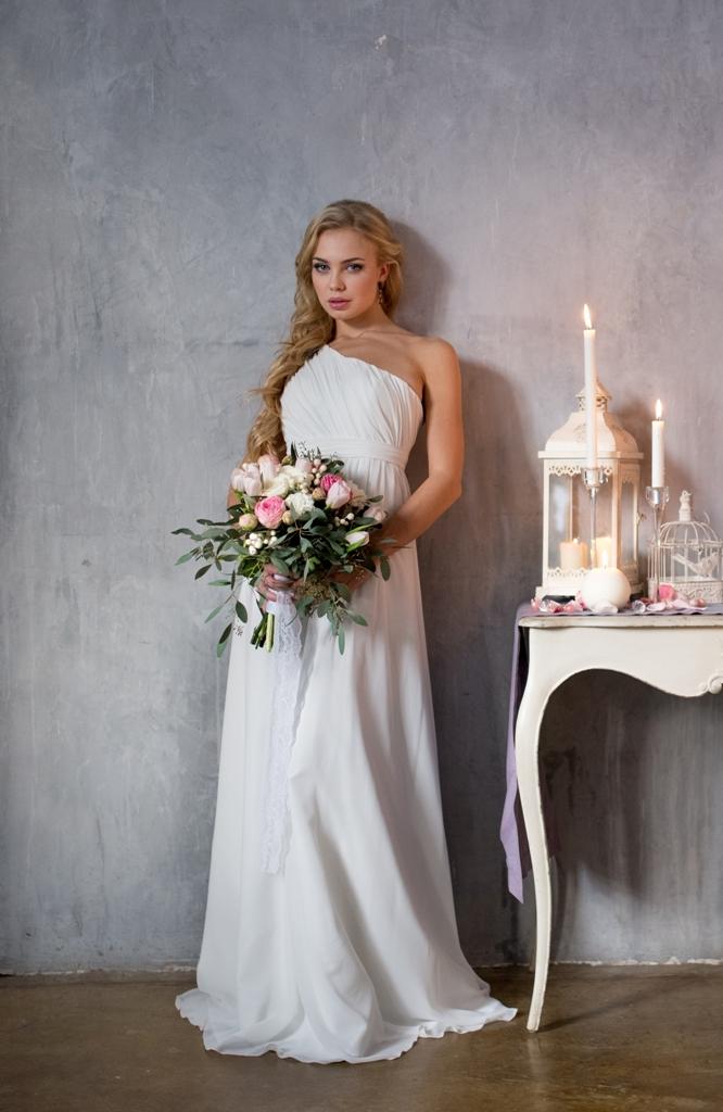 Свадебная прическа от наших стилистов